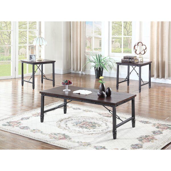 3 Piece Coffee Table Set by BestMasterFurniture BestMasterFurniture
