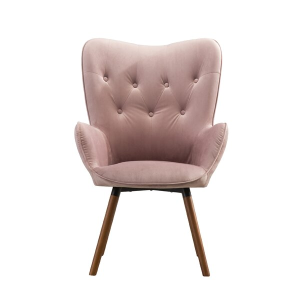 Wysocki Tufted Button Back Armchair by Trent Austin Design