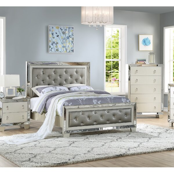 Altheimer Upholstered Standard Bed by Everly Quinn