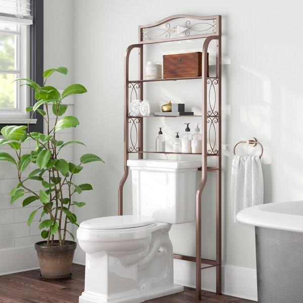 Zula Space saver 27.25 W x 66.5 H Over the Toilet Storage by Fleur De Lis Living