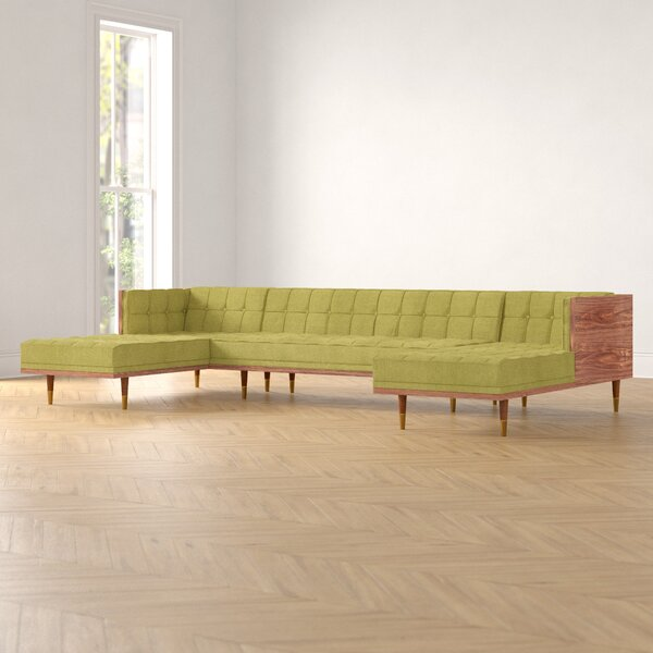 Ledger Symmetrical Box Sofa U-Shaped Symmetrical Modular Sectional By Foundstone