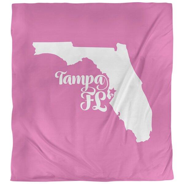 Tampa Florida Duvet Cover
