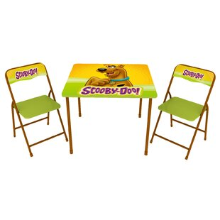 Reviews Scooby Doo Kids 3 Piece Arts and Crafts Table and Chair Set ByO'Kids Inc.