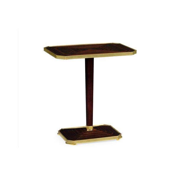Rectangular Macassar End Table by Jonathan Charles Fine Furniture Jonathan Charles Fine Furniture