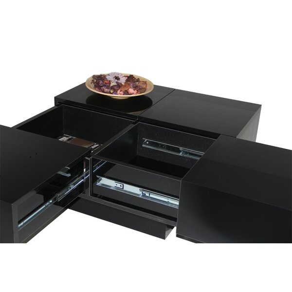 Pickrell Modern Coffee Table With Storage By Latitude Run