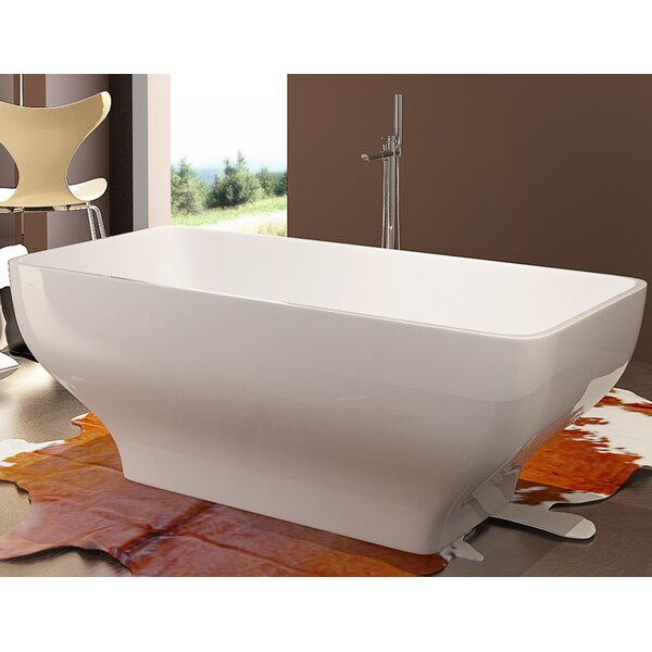 HelixBath Taposiris 67 x 27.5 Soaking Bathtub by Kardiel