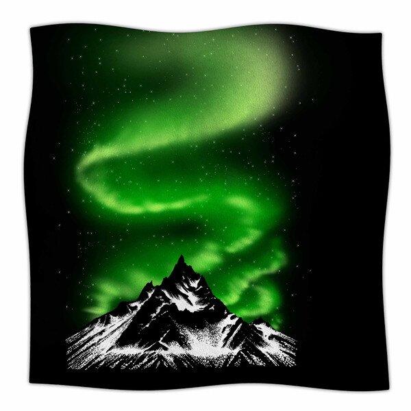Aurora by BarmalisiRTB Fleece Blanket by East Urban Home