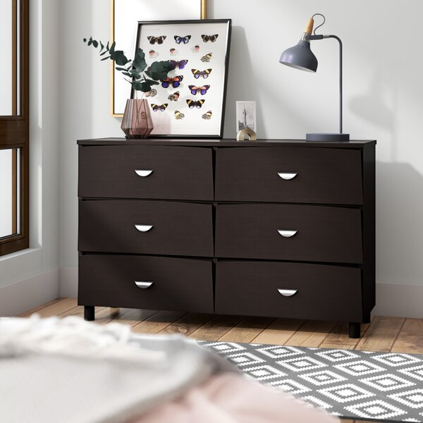 Distefano Commodious 6 Drawer Double Dresser by Latitude Run