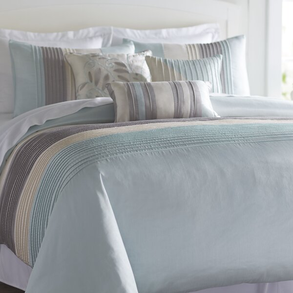 Morell 6 Piece Reversible Duvet Cover Set by Charl
