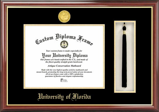 NCAA Florida University, Tassel Box and Diploma Picture Frame by Campus Images