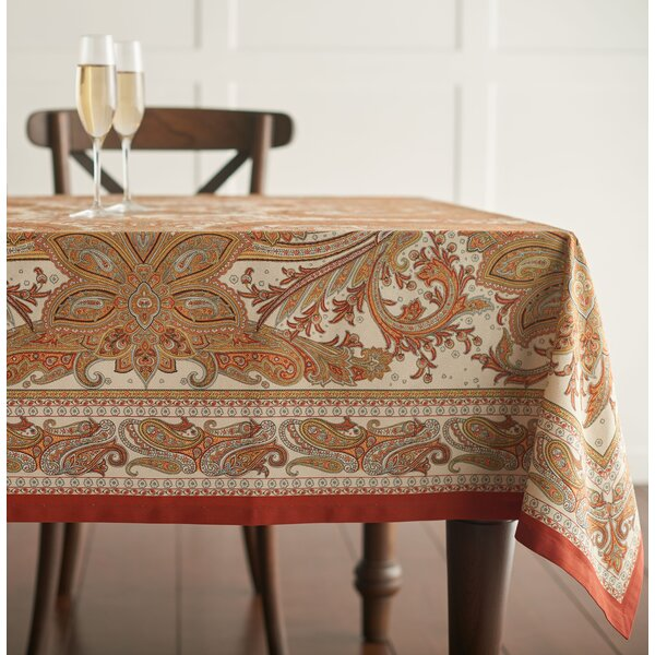 Kashmir Paisley Tablecloth by Maison d' Hermine
