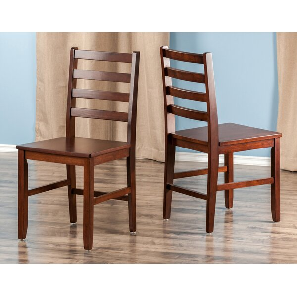 Coleshill Solid Wood Dining Chair (Set of 2) by Red Barrel Studio