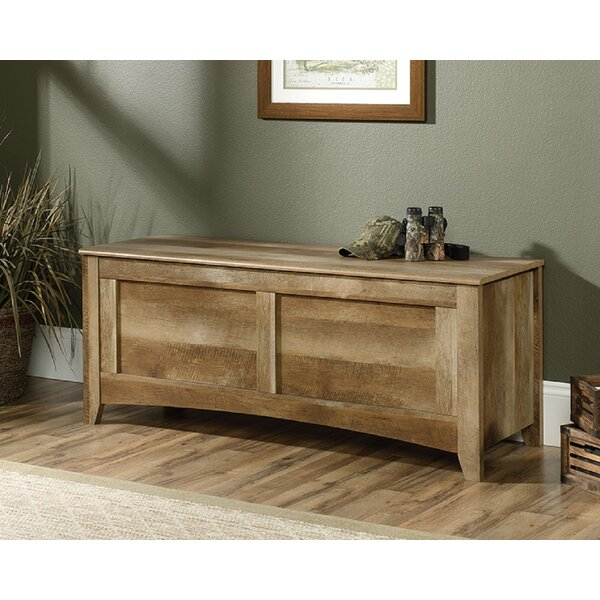 Bumgarner Solid Wood Flip Top Storage Bench By Foundry Select