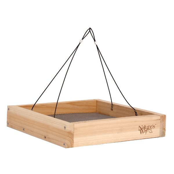 Advanced Bird Products Tray Bird Feeder by Nature's Way