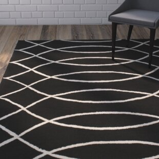 Affordable Mcglynn Black Indoor/Outdoor Area Rug By Wrought Studio