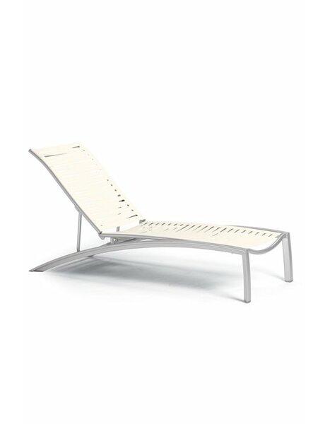 South Beach EZ Span™ Reclining Chaise Lounge by Tropitone