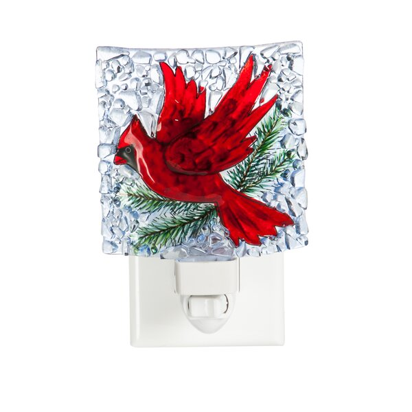 Cardinal Night Light by Cypress Home