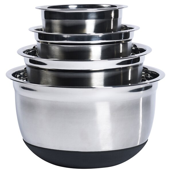 4 Piece Stainless Steel Bowl Set by Denmark