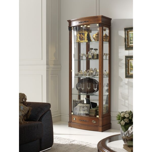 Elbert Glass Door China Cabinet by Canora Grey