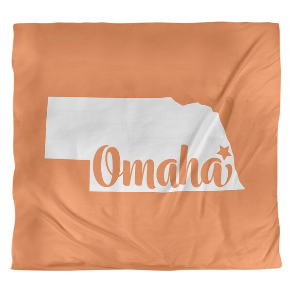 Omaha Nebraska Duvet Cover