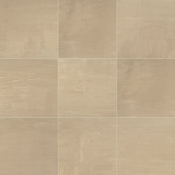 Clearview 18 x 18 Ceramic Field Tile in Beige by Itona Tile