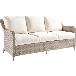 Reviews Keever Sofa with Cushion By Darby Home Co