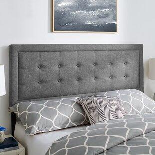 Gehrig Upholstered Panel Headboard by Latitude Run