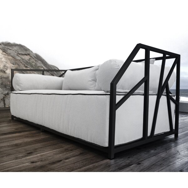 Snydertown Deep Seated Patio Modern Daybed with Cushions by Brayden Studio