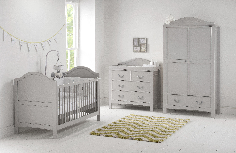 Harriet Bee Leo Cot Bed 3 Piece Nursery