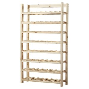 Frenchtown 120 Bottle Floor Wine Bottle Rack by Loon Peak