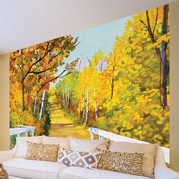 Shades of Autumn Wall Mural by Brewster Home Fashions