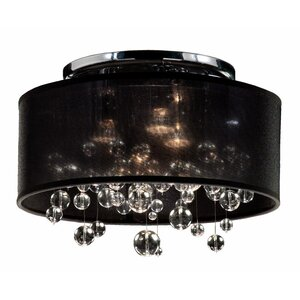 Thomasina 3-Light Semi Flush Mount
