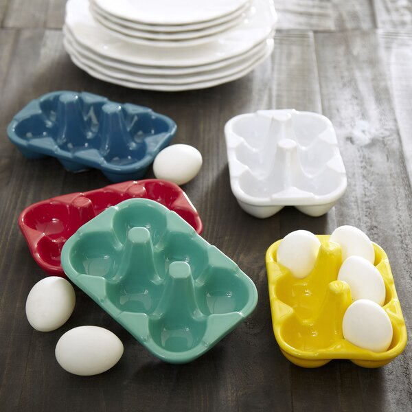 Ceramic Egg Carton by Birch Lane™