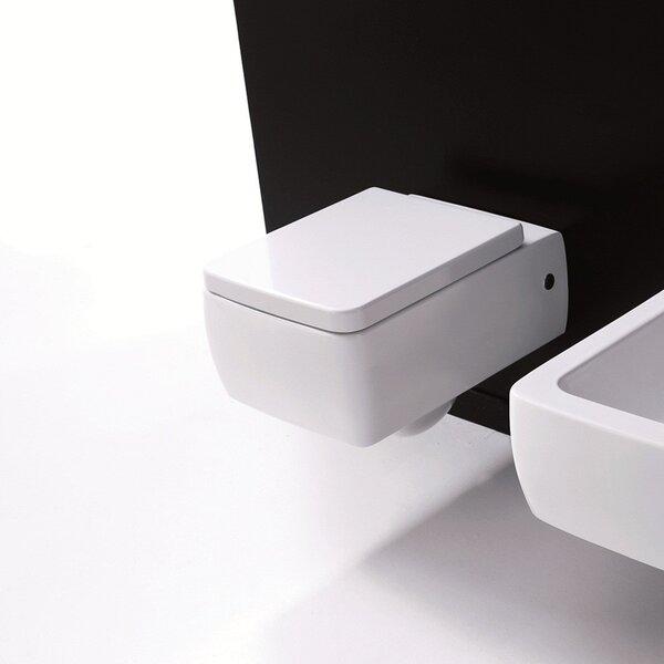 Kerasan Dual Flush Elongated Toilet Bowl by WS Bath Collections
