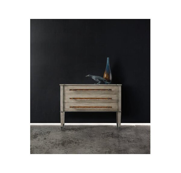 Melange Rowan 3 Drawer Chest by Hooker Furniture