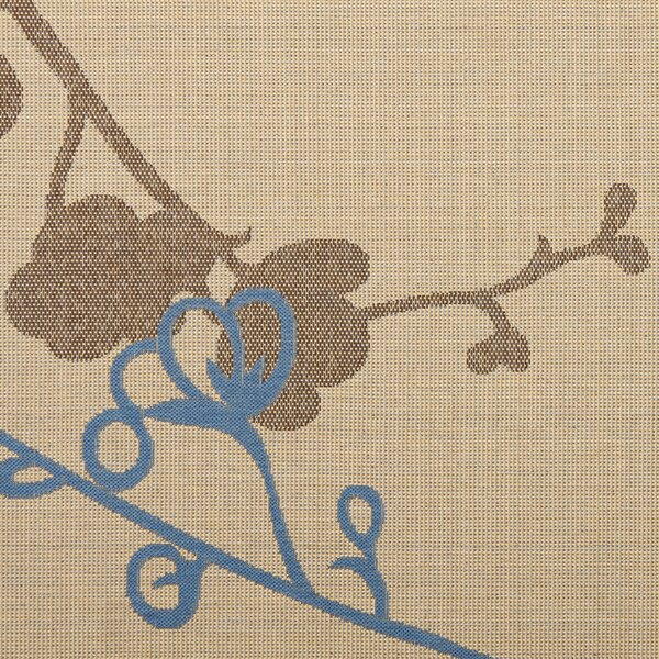 Laurel Brown/Blue Indoor/OutdoorArea Rug by August Grove