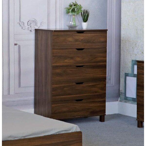 Velda 5 Drawer Dresser by Millwood Pines