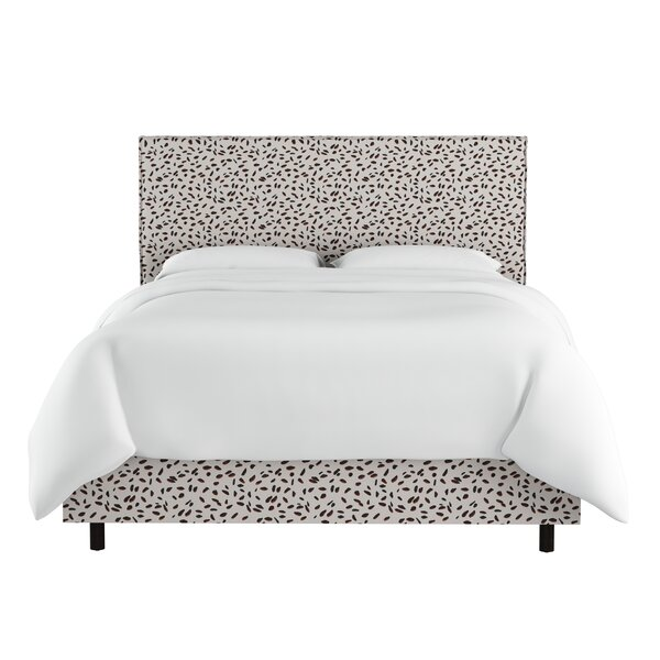 Marksbury Slipcover Upholstered Standard Bed by Wrought Studio