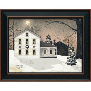 'Silent Night' Framed Graphic Art by Charlton Home