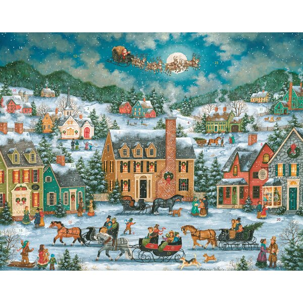 Christmas in Town Advent Calendar by The Holiday Aisle