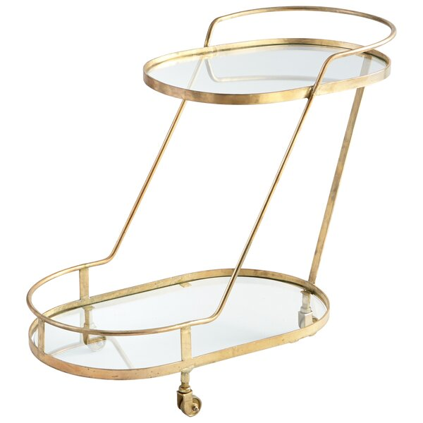 Patin Bar Cart by Cyan Design