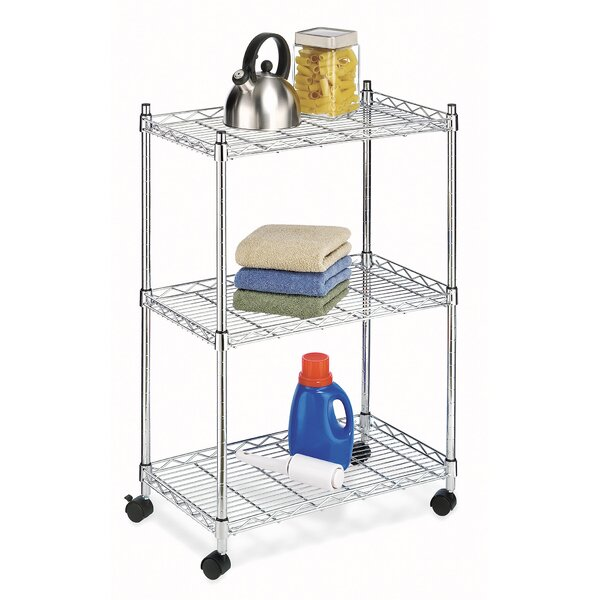 Jumbo 33.5 H 3 Shelf Shelving Unit by Whitmor, Inc