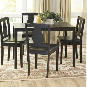 Lizzy 5 Piece Dinning Set by Andover Mills