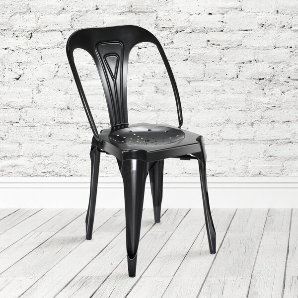 Dhruv Tolix Dining Chair (Set of 2) by 17 Stories 17 Stories