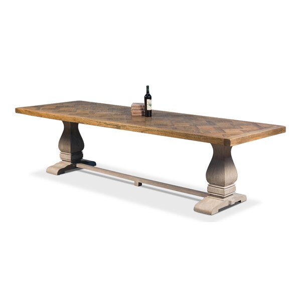 The Frisco Solid Wood Dining Table by Sarreid Ltd