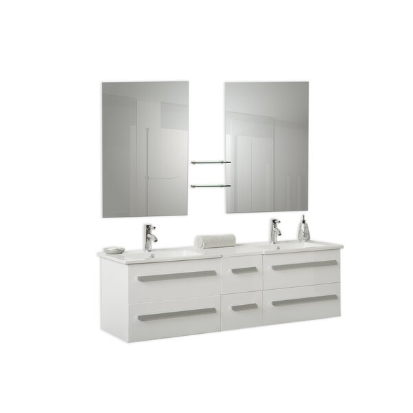 59 Double Bathroom Vanity Set by Velago