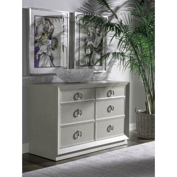 Best Zeitgeist 6 Drawer Double Dresser