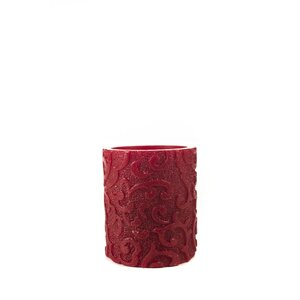 Holiday Collection Flameless Pillar Candle