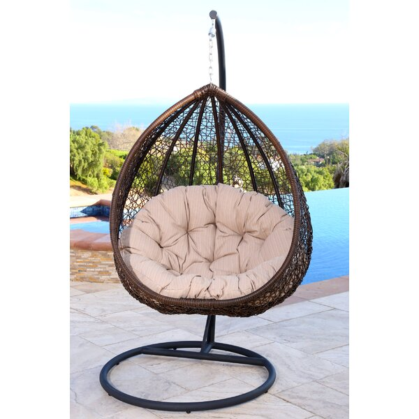 Ghazali Swing Chair with Stand by World Menagerie World Menagerie