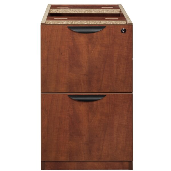 Linh File Pedestal 2-Drawer Vertical Filing Cabinet by Latitude Run